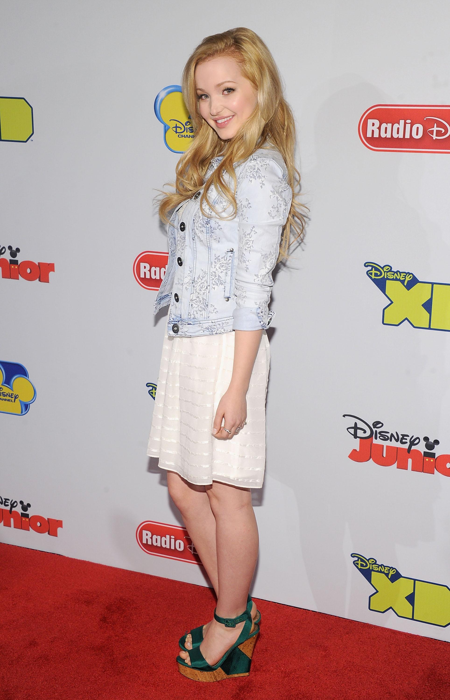Dove Cameron-Disney Channel Kids Upfront 2013, Hudson Theatre, New York City, 03/12/2013