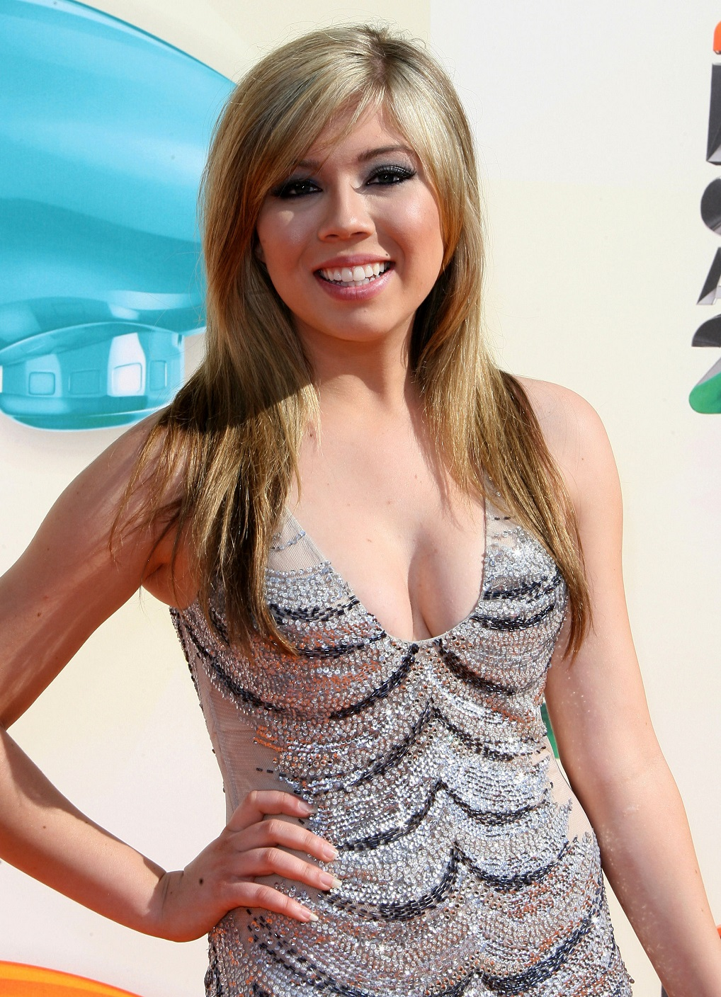Jennette McCurdy-2012 Nickelodeon Kids' Choice Awards, Galen Center, Los Angeles, 03/31/2012