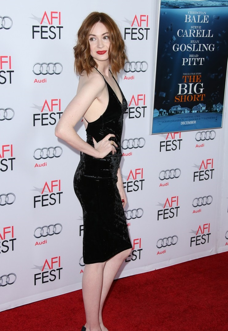 AFI FEST 2015 Presented By Audi Closing Night Gala Premiere of Paramount Pictures' 'The Big Short' - Arrivals Featuring: Karen Gillan Where: Hollywood, California, United States When: 12 Nov 2015 Credit: FayesVision/WENN.com