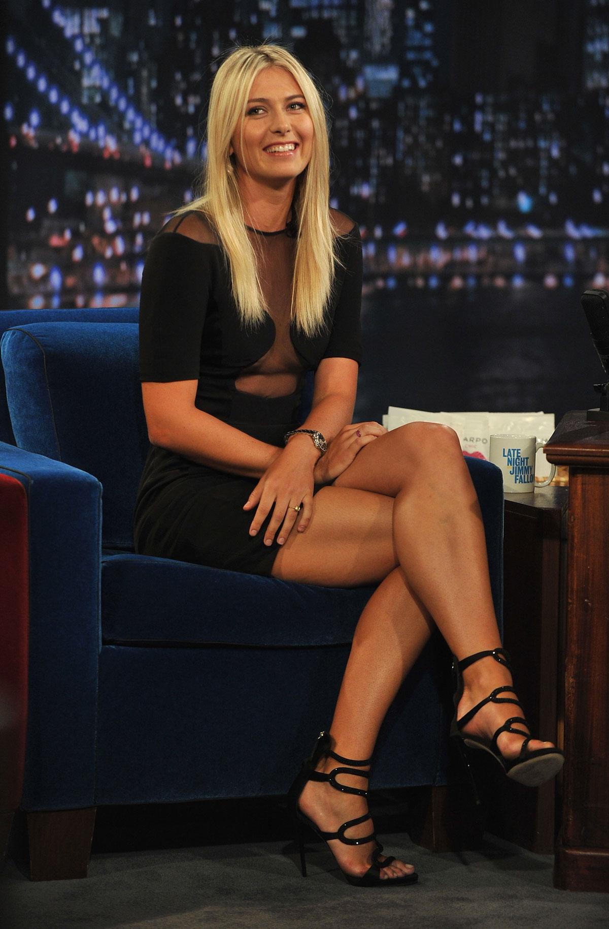 MARIA SHARAPOVA at Jimmy Kimmel Live! Show