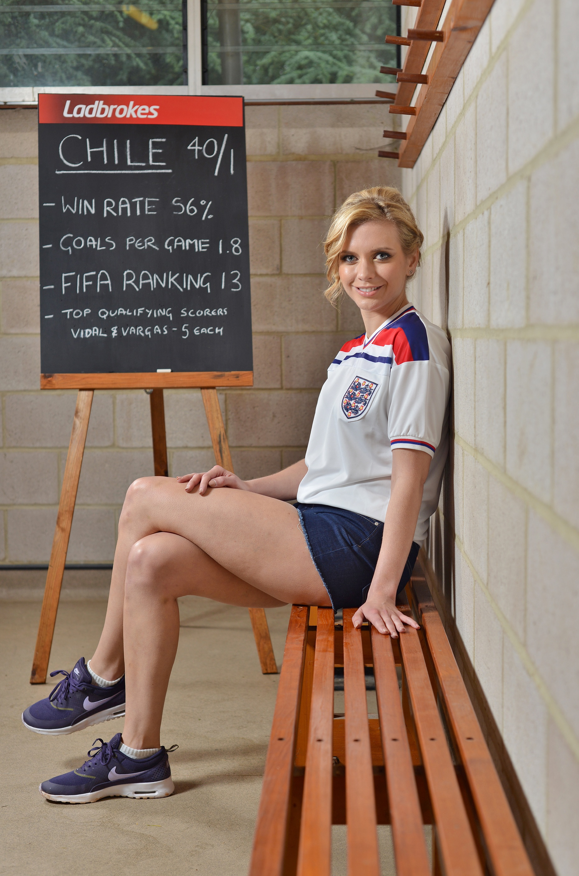 "5 June 2014: ""Football fanatic, Oxbridge graduate and professional number cruncher Rachel Riley unveils who she thinks will win this year's World Cup in Brazil. Betting experts Ladbrokes, challenged Rachel to pore over historical World Cup data and use statistics to pinpoint this year's potential winners – with the stats unexpectedly indicating 40/1 outsiders Chile as the surprise champions. The research which was a combination of mathematical logic and human reasoning analysed a range of variable factors including goal averages, goal scorers, win rates, climate, geography and all the pre-tournament hype and expectation."" ENDS For more information on the research please call Clarion Communications on 0207 479 0910 or email clarion.ladbrokes@clarioncomms.co.uk"