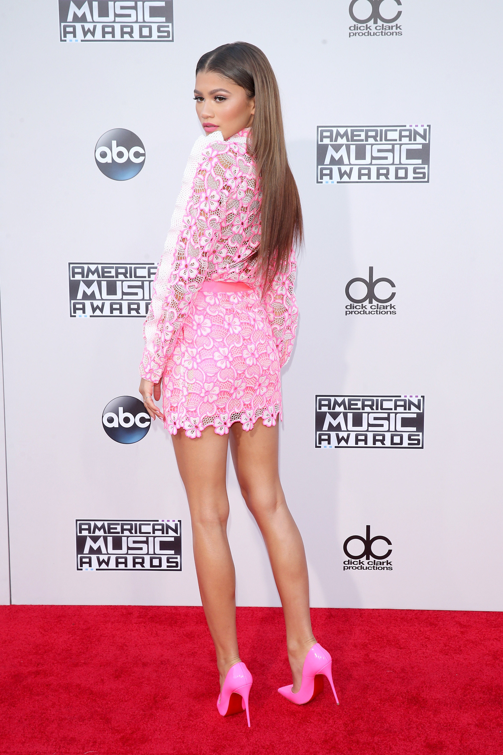 LOS ANGELES, CA - NOVEMBER 22: Singer Zendaya attends the 2015 American Music Awards at Microsoft Theater on November 22, 2015 in Los Angeles, California. (Photo by Mark Davis/Getty Images)