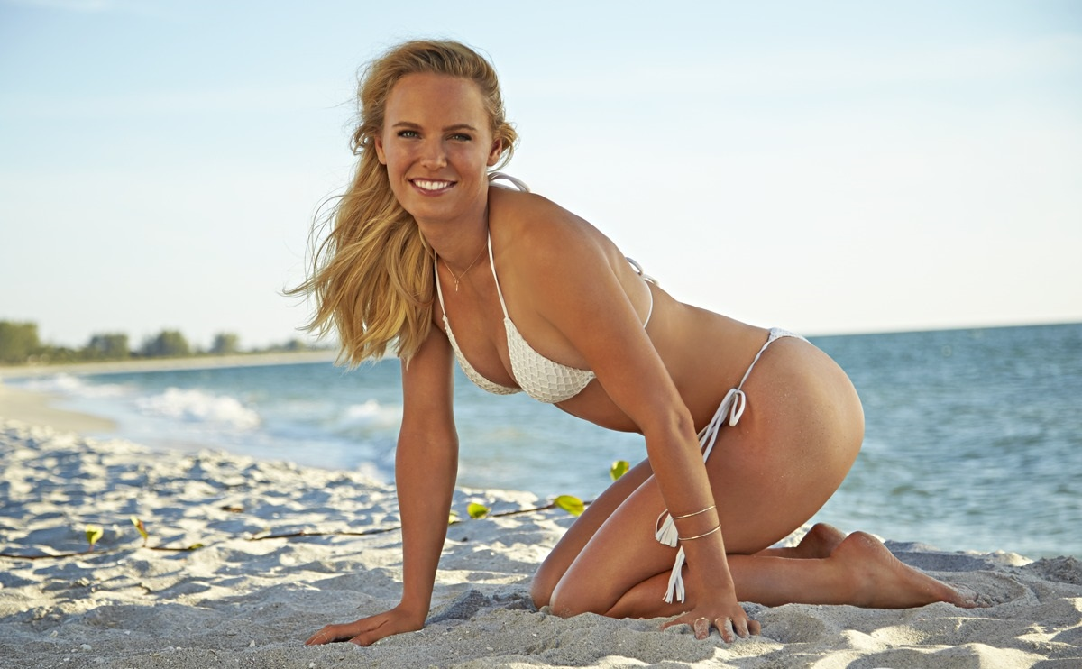 SI Swimsuit 2015 - Athletes Shoot Caroline Wozniacki South Seas Resort/Captiva Island, Florida, USA 11/12/2014 X158908 TK2 Credit: Walter Iooss Jr.