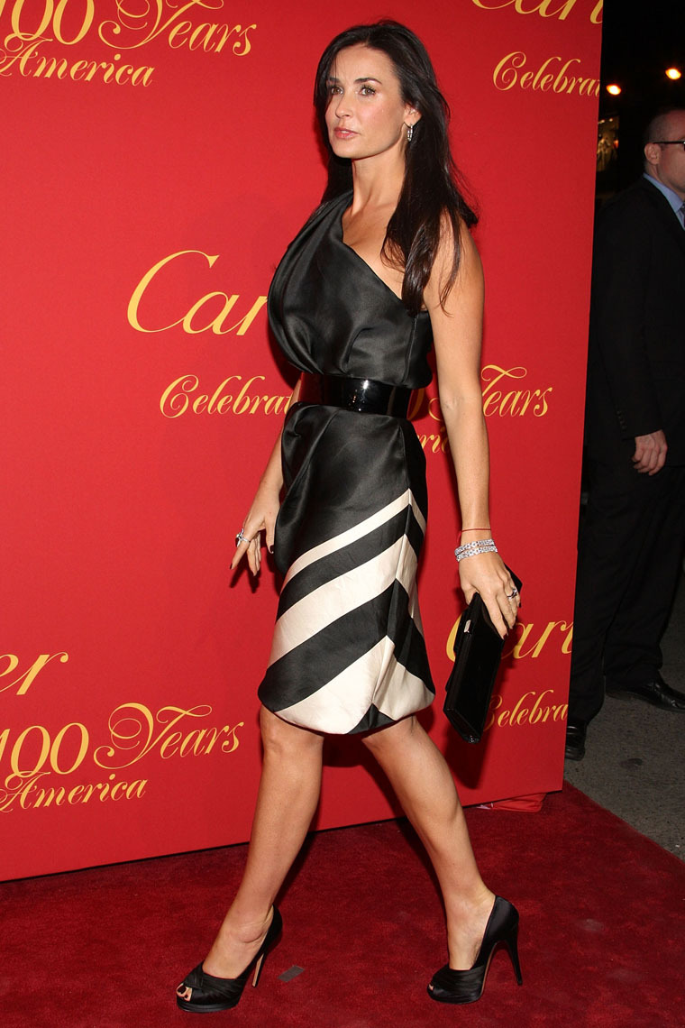 NEW YORK - APRIL 30: Actress Demi Moore attends the Cartier 100th Anniversary in America Celebration at Cartier Fifth Avenue Mansion on April 30, 2009 in New York City. (Photo by Bryan Bedder/Getty Images) *** Local Caption *** Demi Moore