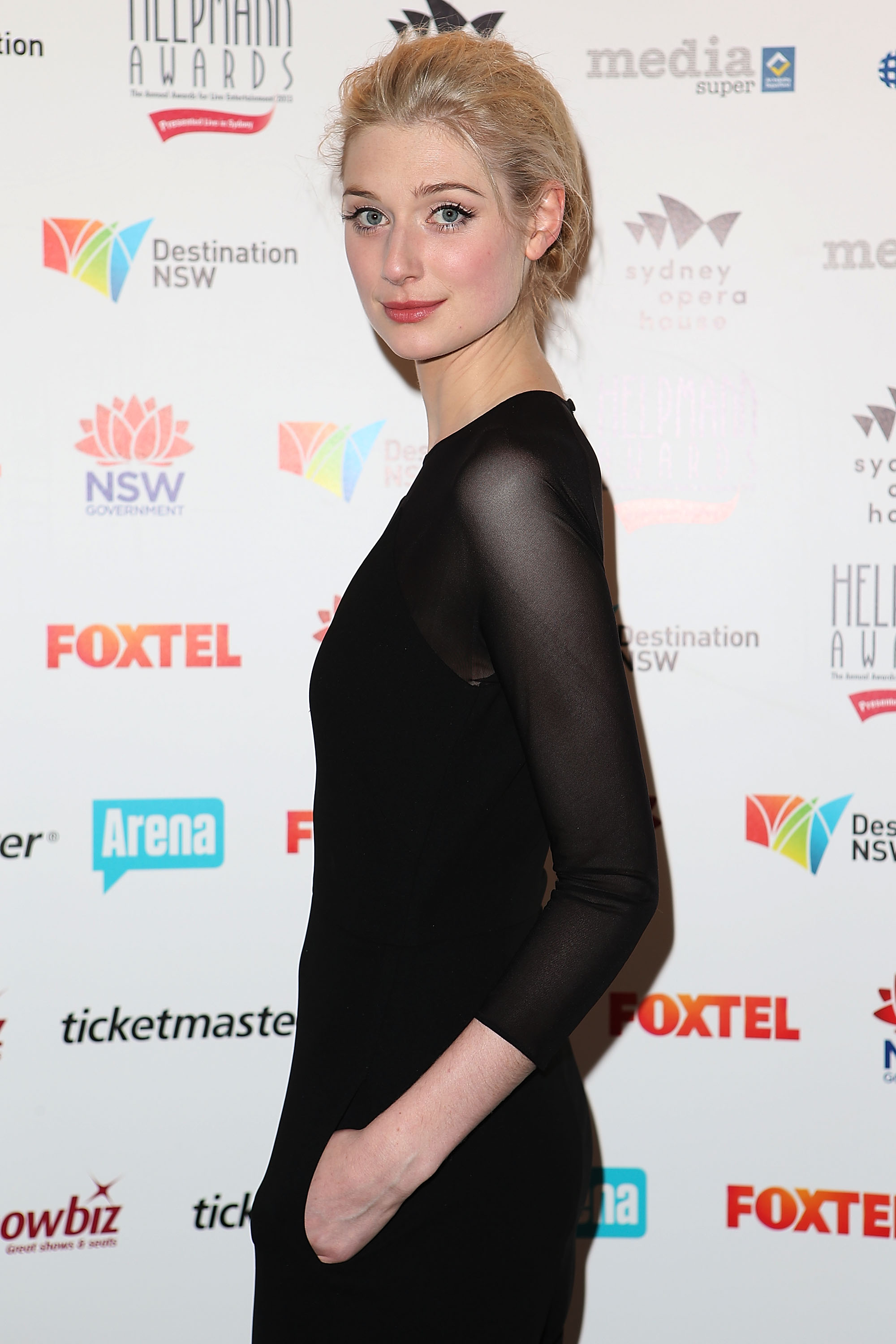 SYDNEY, AUSTRALIA - JULY 29: Elizabeth Debicki arrives at the 2013 Helpmann Awards at the Sydney Opera House on July 29, 2013 in Sydney, Australia. (Photo by Brendon Thorne/Getty Images)