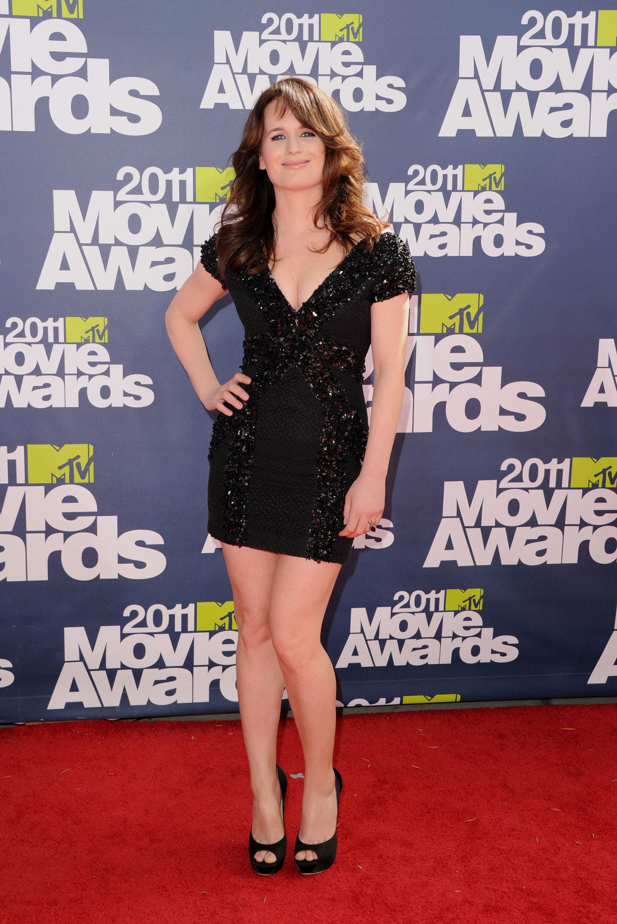 UNIVERSAL CITY, CA - JUNE 05: Actress Elizabeth Reaser arrives at the 2011 MTV Movie Awards at Universal Studios' Gibson Amphitheatre on June 5, 2011 in Universal City, California. (Photo by Jason Merritt/Getty Images)
