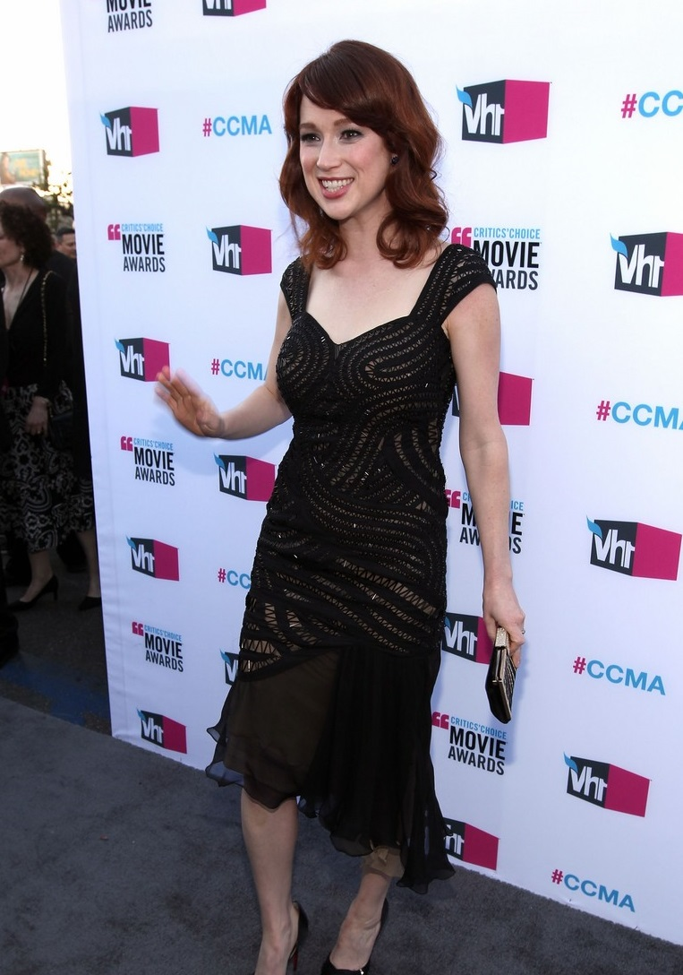 HOLLYWOOD, CA - JANUARY 12: Actress Ellie Kemper arrives at the 17th Annual Critics' Choice Movie Awards held at The Hollywood Palladium on January 12, 2012 in Los Angeles, California. (Photo by Christopher Polk/Getty Images for VH1)