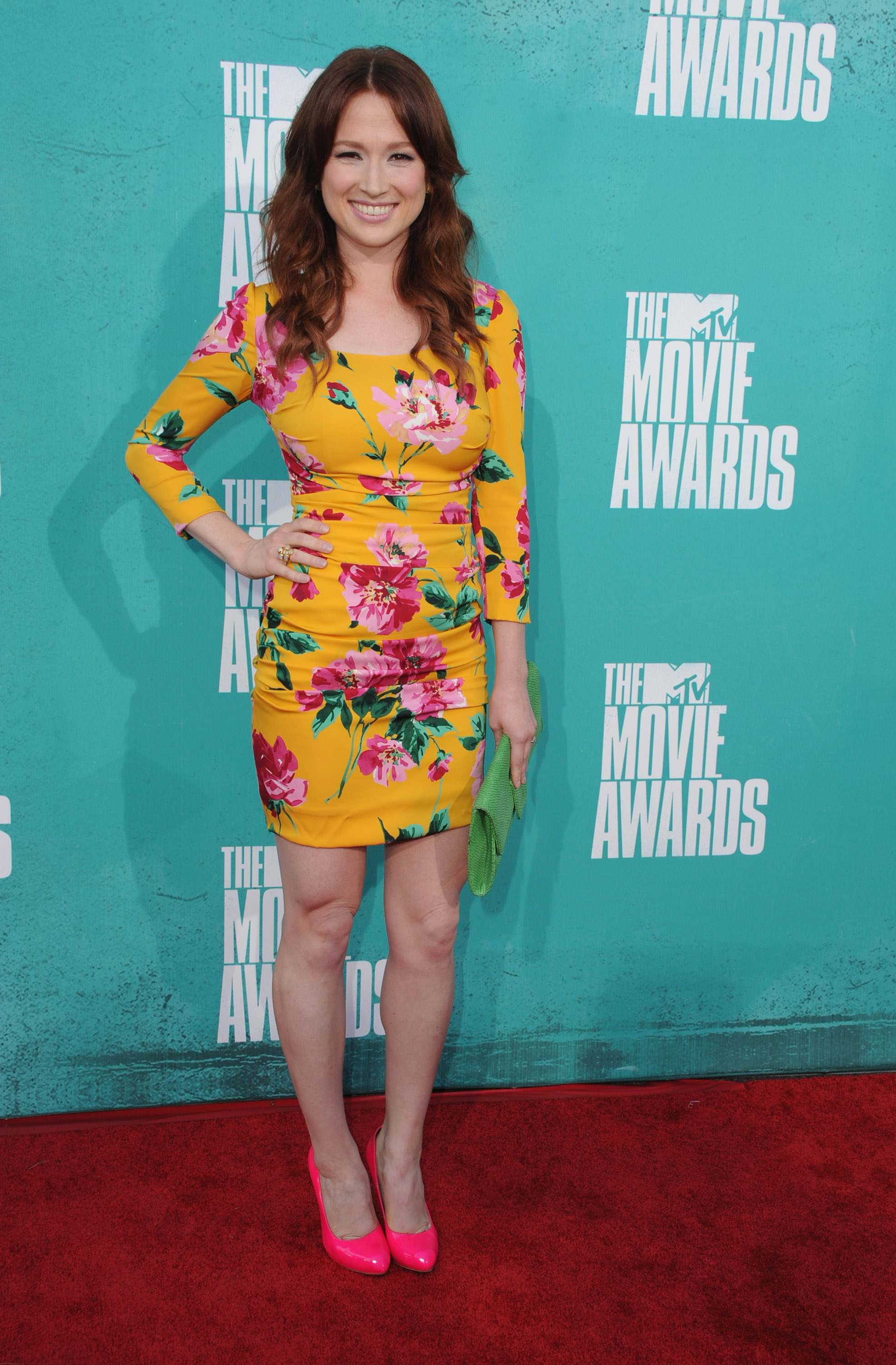 UNIVERSAL CITY, CA - JUNE 03: Actress Ellie Kemper arrives at the 2012 MTV Movie Awards at Gibson Amphitheatre on June 3, 2012 in Universal City, California. (Photo by Steve Granitz/WireImage)