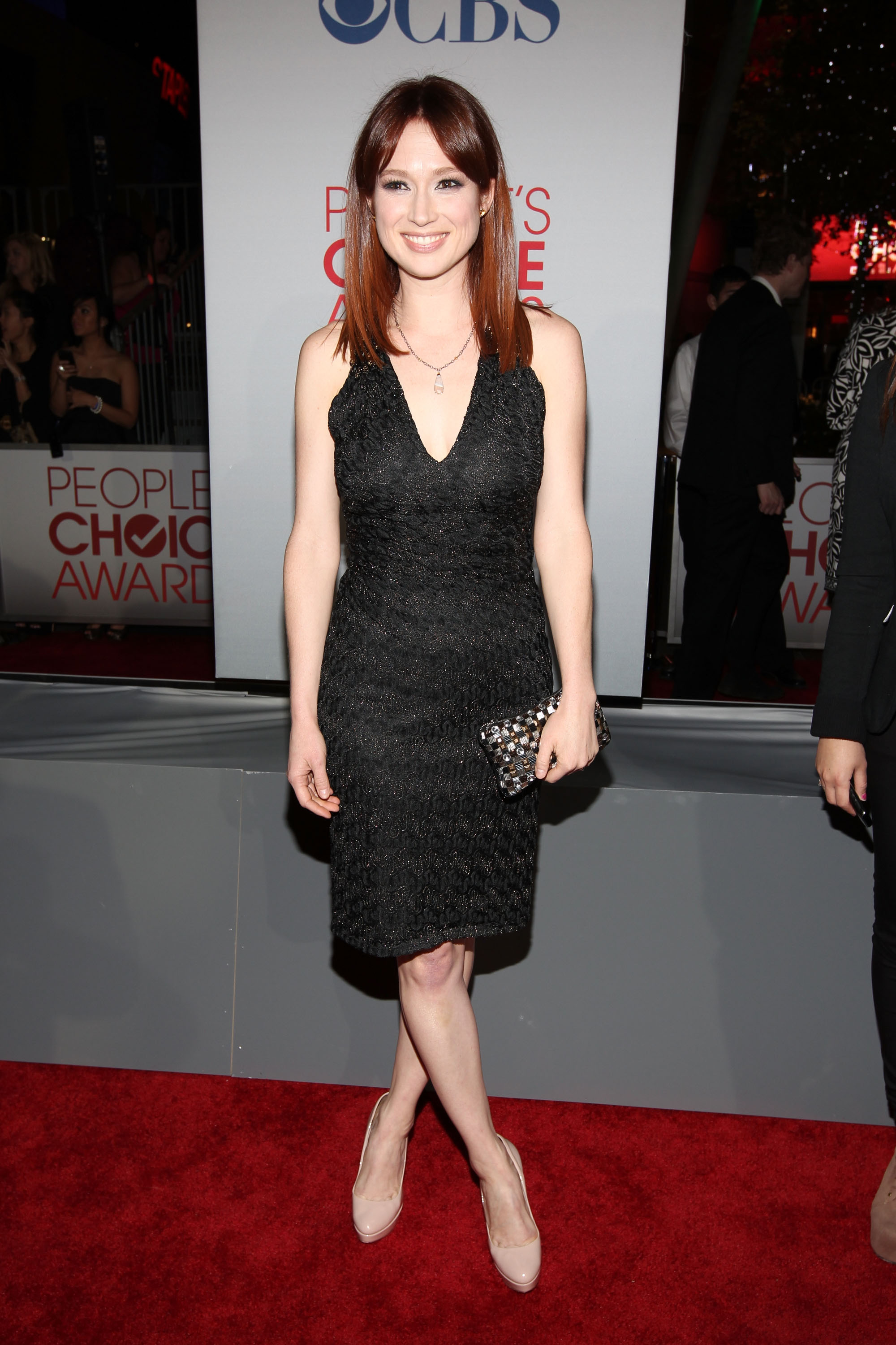 LOS ANGELES, CA - JANUARY 11: Actress Ellie Kemper arrives at the 2012 People's Choice Awards at Nokia Theatre L.A. Live on January 11, 2012 in Los Angeles, California. (Photo by Christopher Polk/Getty Images for PCA)