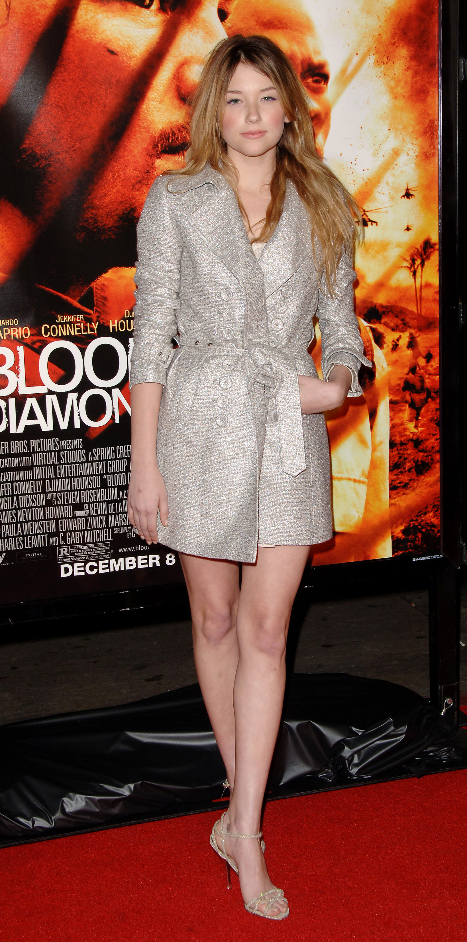 Photo must be credited ©Landov/Alpha 064006 06/12/06 Haley Bennett Blood Diamond Premiere held at the Grauman's Theatre in Hollywood, California
