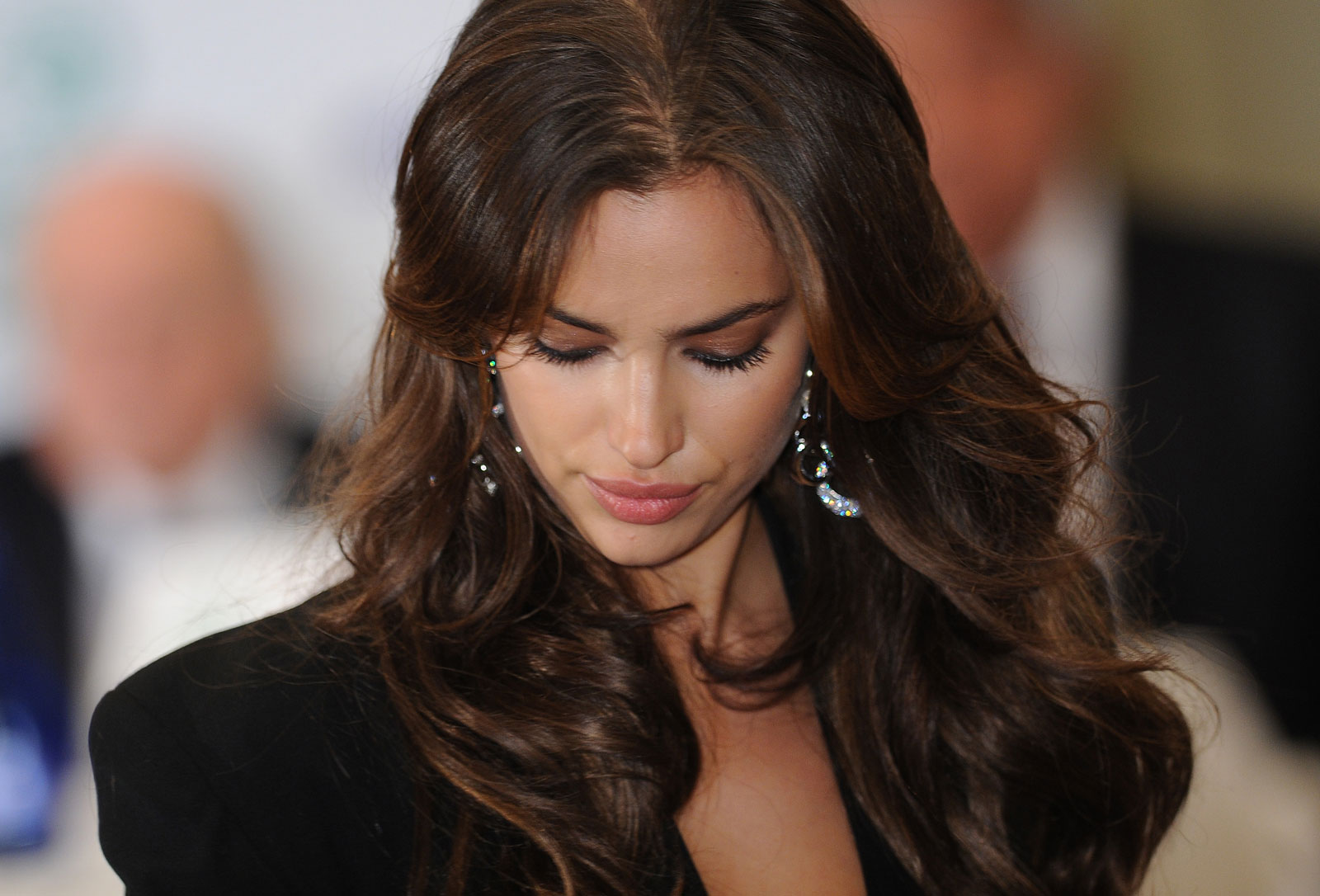 Irina Shayk at the Golden Boot Ceremony in Madrid