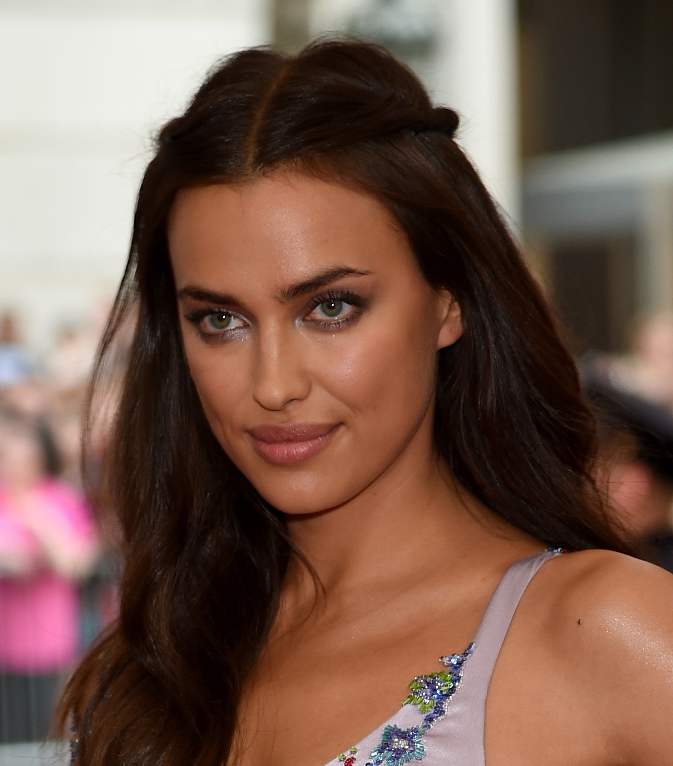 "NEW YORK, NY - MAY 04:  Irina Shayk attends the ""China: Through The Looking Glass"" Costume Institute Benefit Gala at the Metropolitan Museum of Art on May 4, 2015 in New York City.  (Photo by Dimitrios Kambouris/Getty Images)"