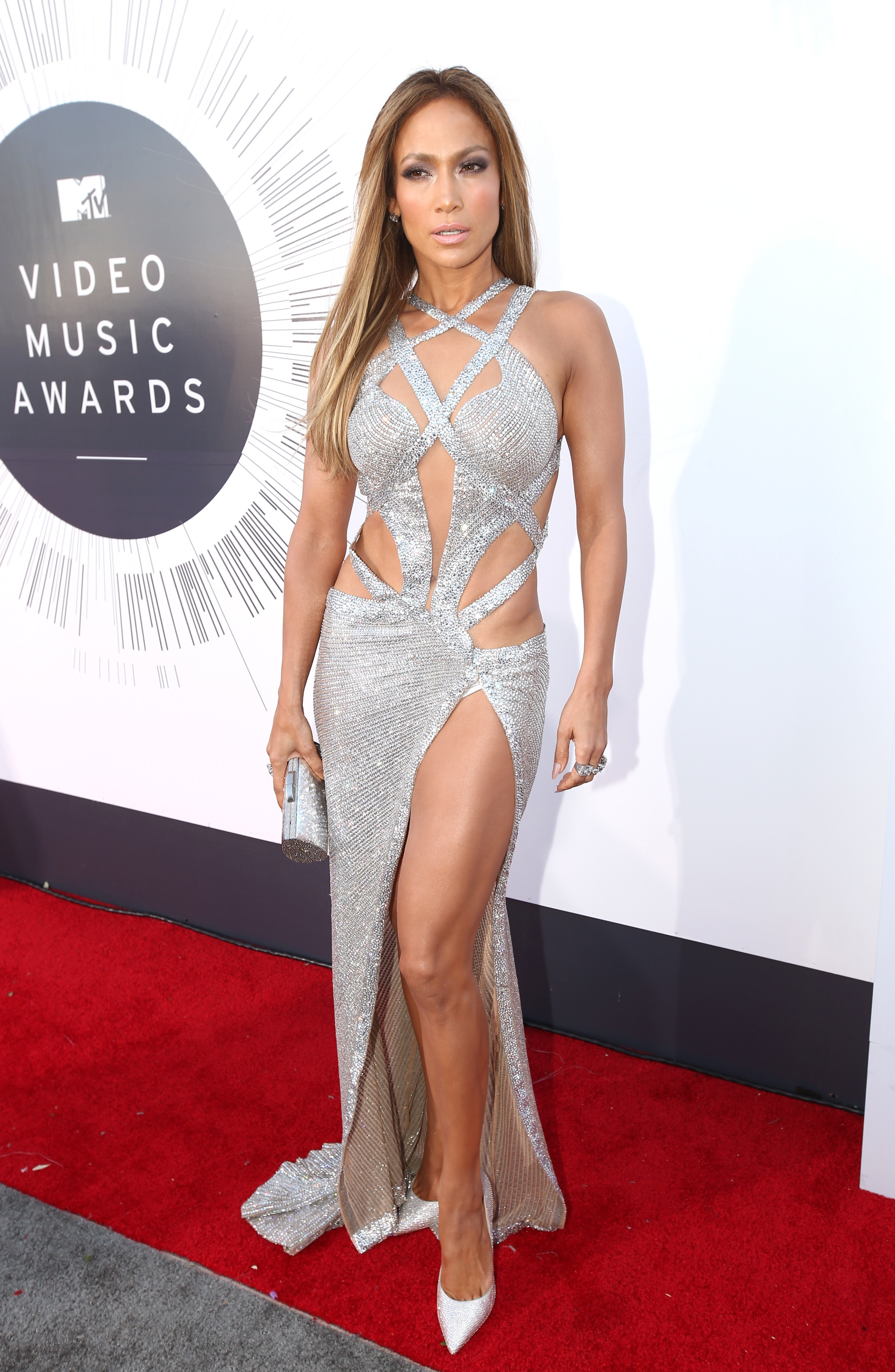INGLEWOOD, CA - AUGUST 24: Actress/singer Jennifer Lopez attends the 2014 MTV Video Music Awards at The Forum on August 24, 2014 in Inglewood, California. (Photo by Christopher Polk/Getty Images for MTV)