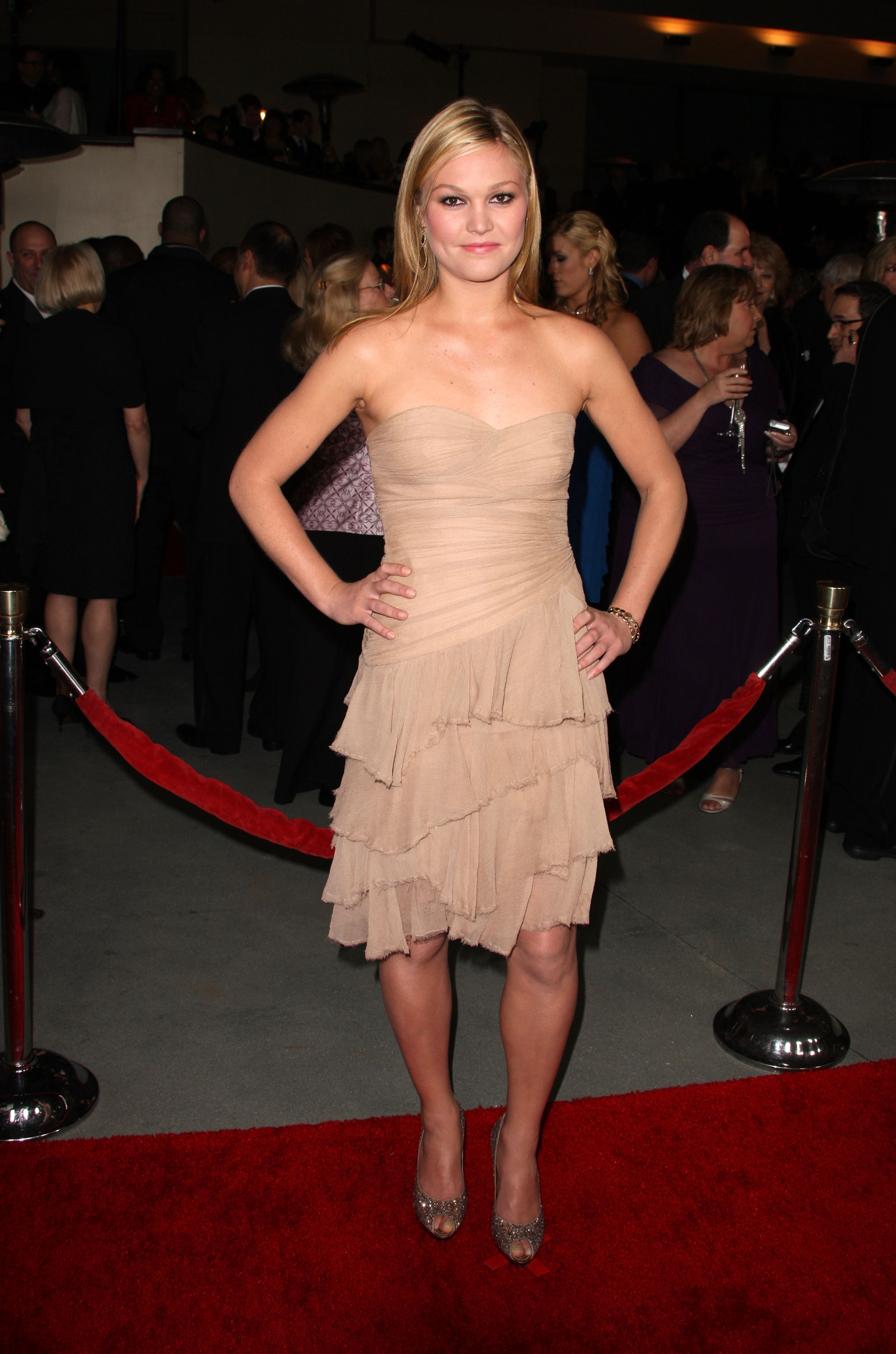 HOLLYWOOD - JANUARY 29: Actress Julia Stiles arrives at the 63rd Annual Directors Guild Of America Awards held at the Grand Ballroom at Hollywood & Highland on January 29, 2011 in Hollywood, California. (Photo by Frederick M. Brown/Getty Images)