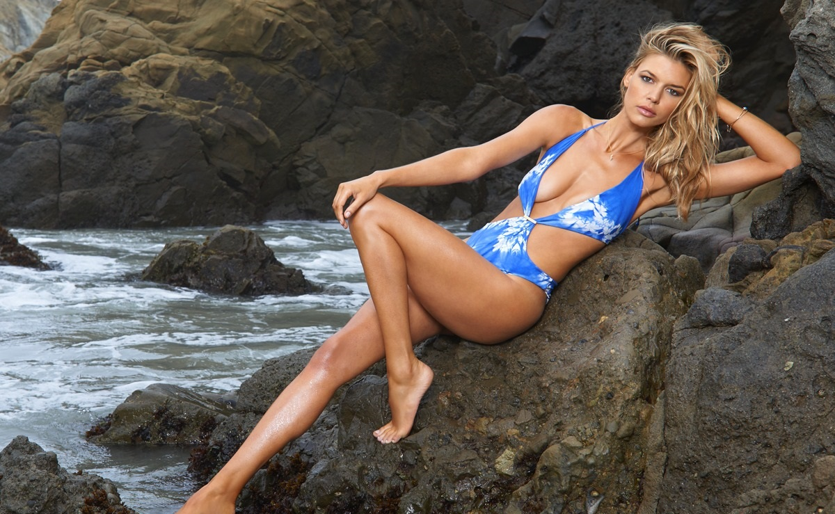 Swimsuit 2015: West Coast Shoot Kelly Rohrbach Various/NA, NA, USA 7/12/2014 X158431 TK3 Credit: Yu  Tsai Swimsuit by: Indie Soul