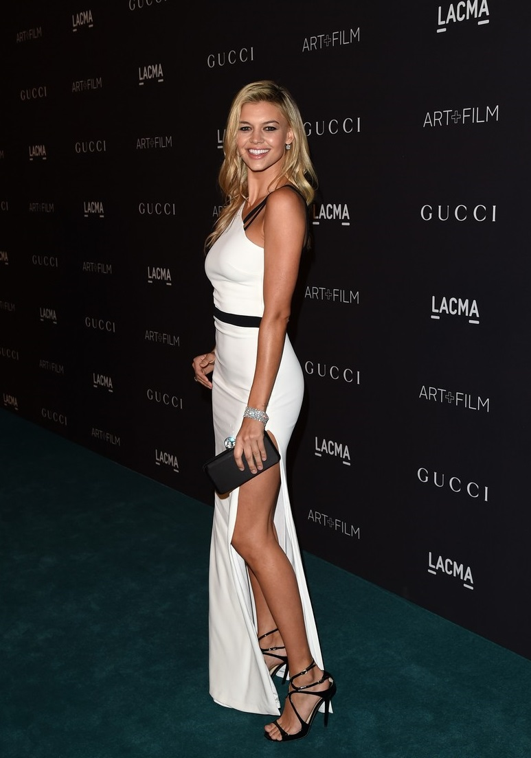 LOS ANGELES, CA - NOVEMBER 07:  Model Kelly Rohrbach attends LACMA 2015 Art+Film Gala Honoring James Turrell and Alejandro G Iñárritu, Presented by Gucci at LACMA on November 7, 2015 in Los Angeles, California.  (Photo by Jason Merritt/Getty Images  for LACMA)