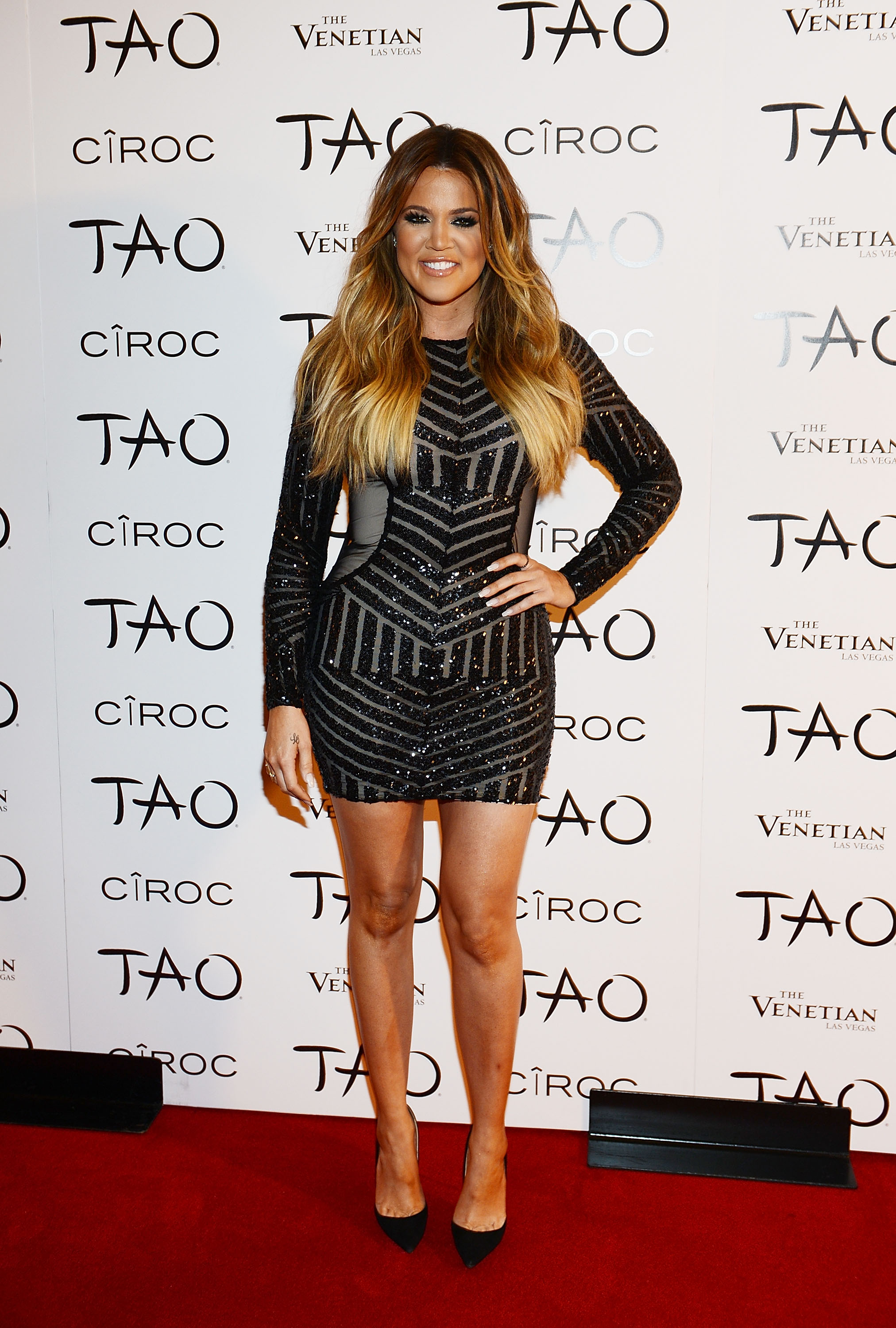 LAS VEGAS, NV - JULY 04: Khloe Kardashian arrives at her 30th birthday party at TAO Nightclub on July 4, 2014 in Las Vegas, Nevada. (Photo by Denise Truscello/WireImage)