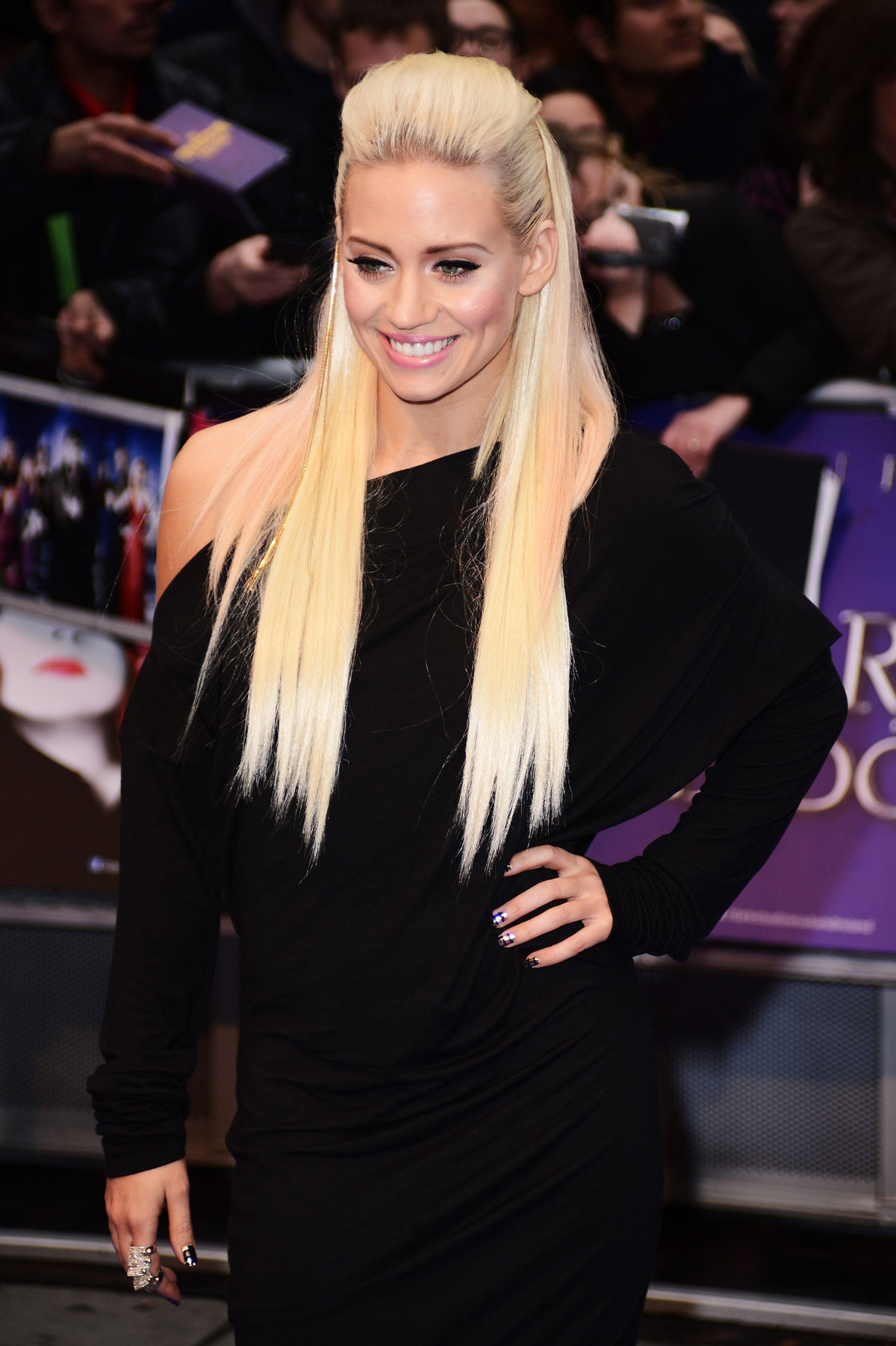 KIMBERLY WYATT at Dark Shadows Premiere in London