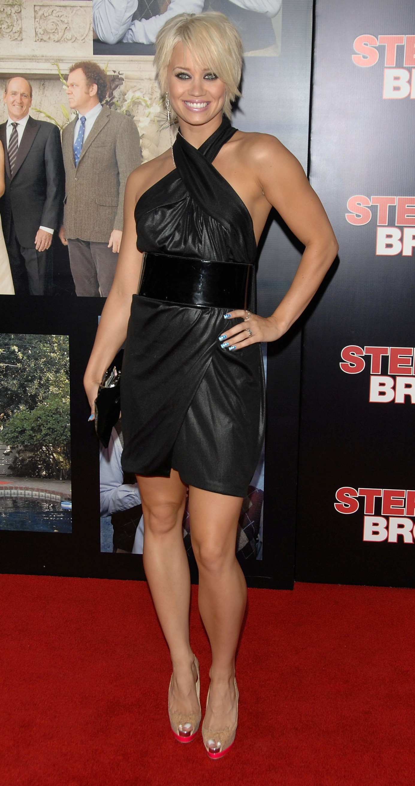 """WESTWOOD, CA - JULY 15: attends the premiere of Sony Pictures' """"Step Brothers"""" at the Mann Village Theater on July 15, 2008 in Westwood, California. (Photo by Stephen Shugerman/Getty Images)"""