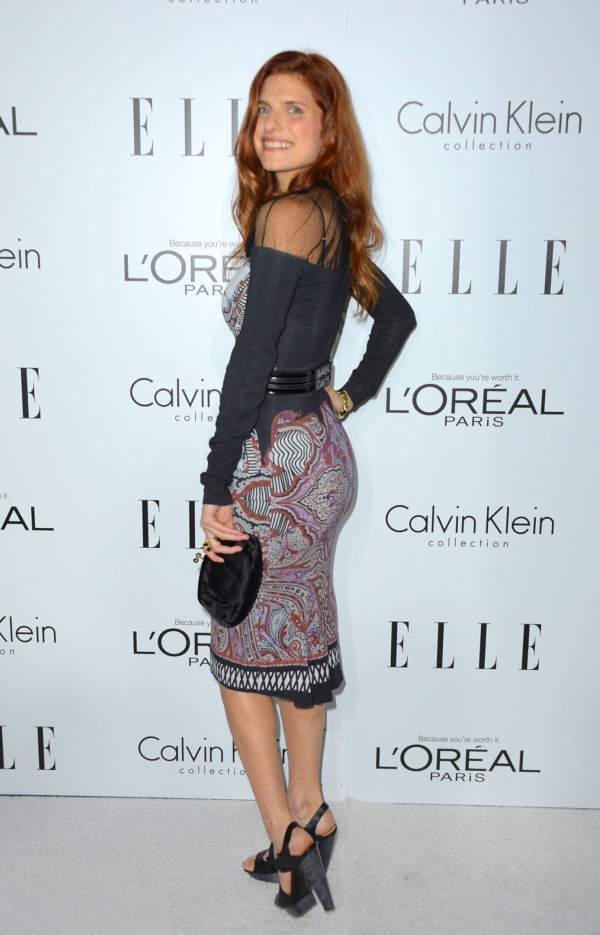 LAKE BELL at ELLE's Women in Hollywood Event in Beverly Hills