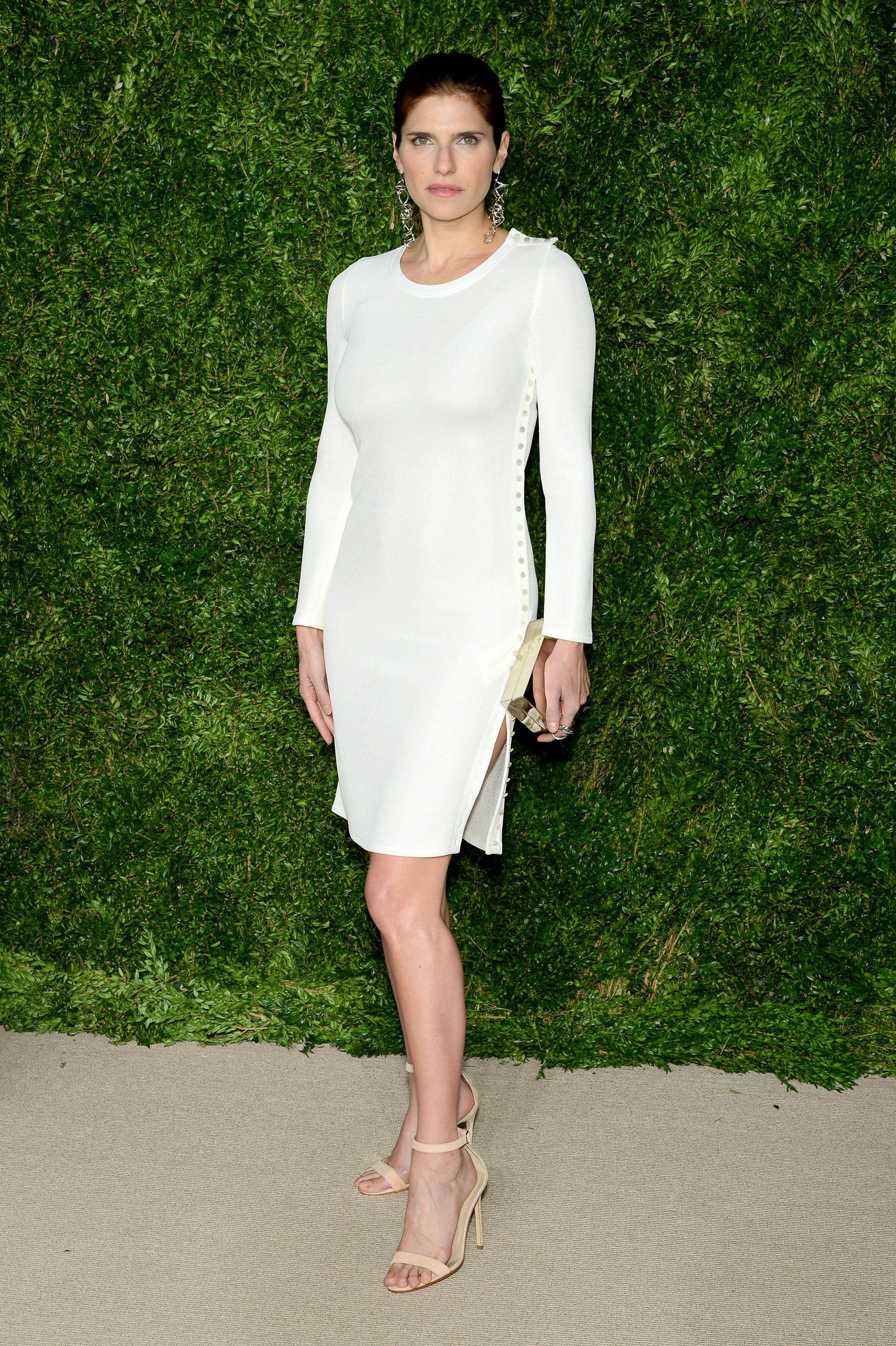 attends the 12th annual CFDA/Vogue Fashion Fund Awards at Spring Studios on November 2, 2015 in New York City.