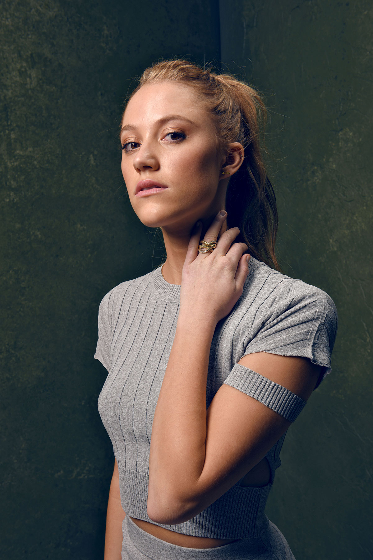 MAIKA MONROE at It Follows Portraits at 2015 Sundance Film Festival
