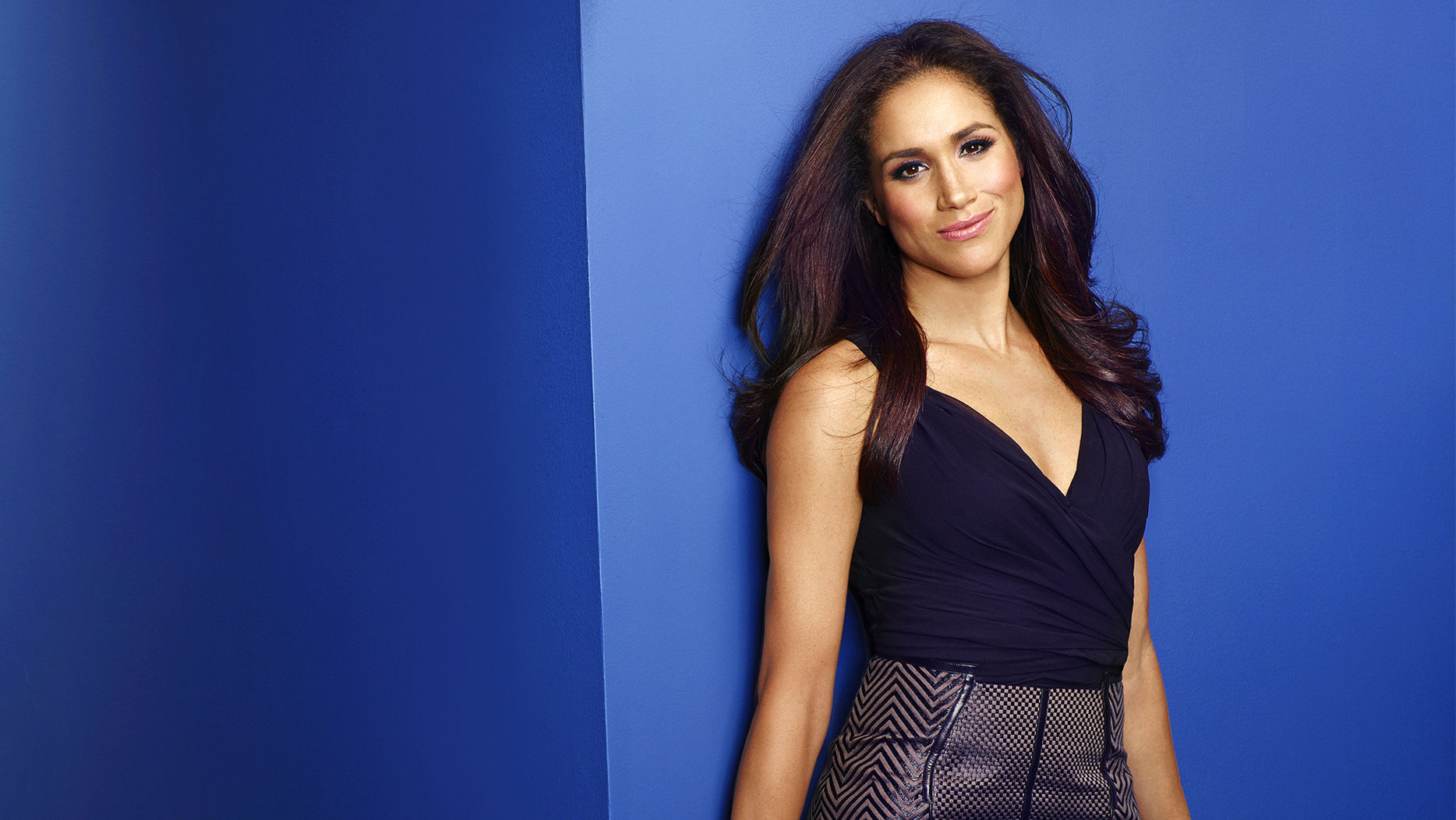 "USA CORPORATE -- ""USA Network Upfront 2013 Talent Portraits"" -- Pictured: Meghan Markle from Suits -- (Photo by: Jill Greenberg/USA Network)"