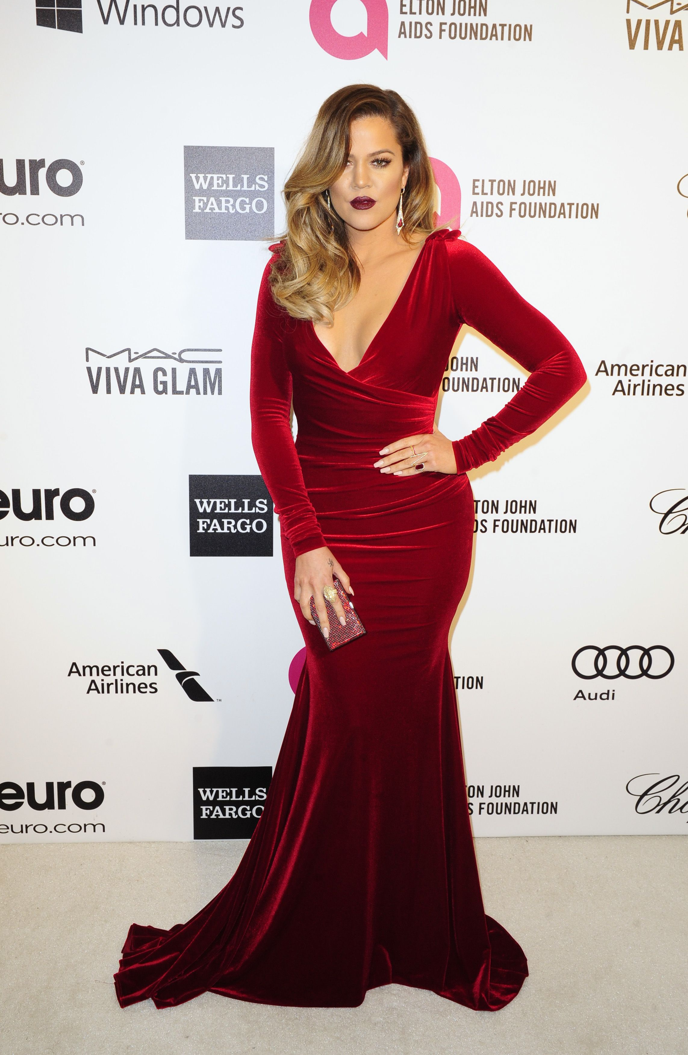 khloe-kardashian-red-dress-reuters