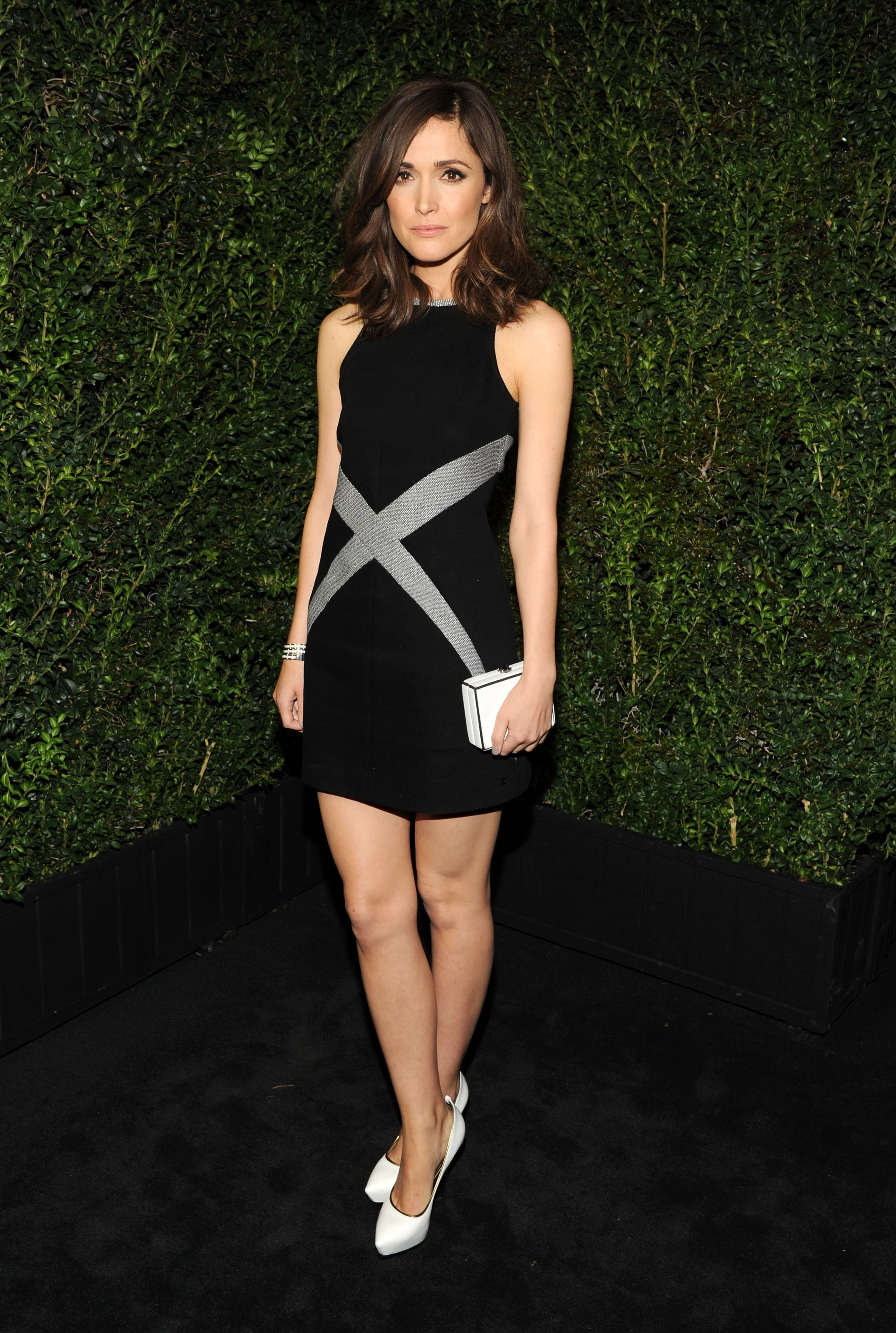 LOS ANGELES, CA - FEBRUARY 23: Rose Byrne attends the Chanel Pre-Oscar dinner at Madeo Restaurant on February 23, 2013 in Los Angeles, California. (Photo by Craig Barritt/Getty Images for Chanel)