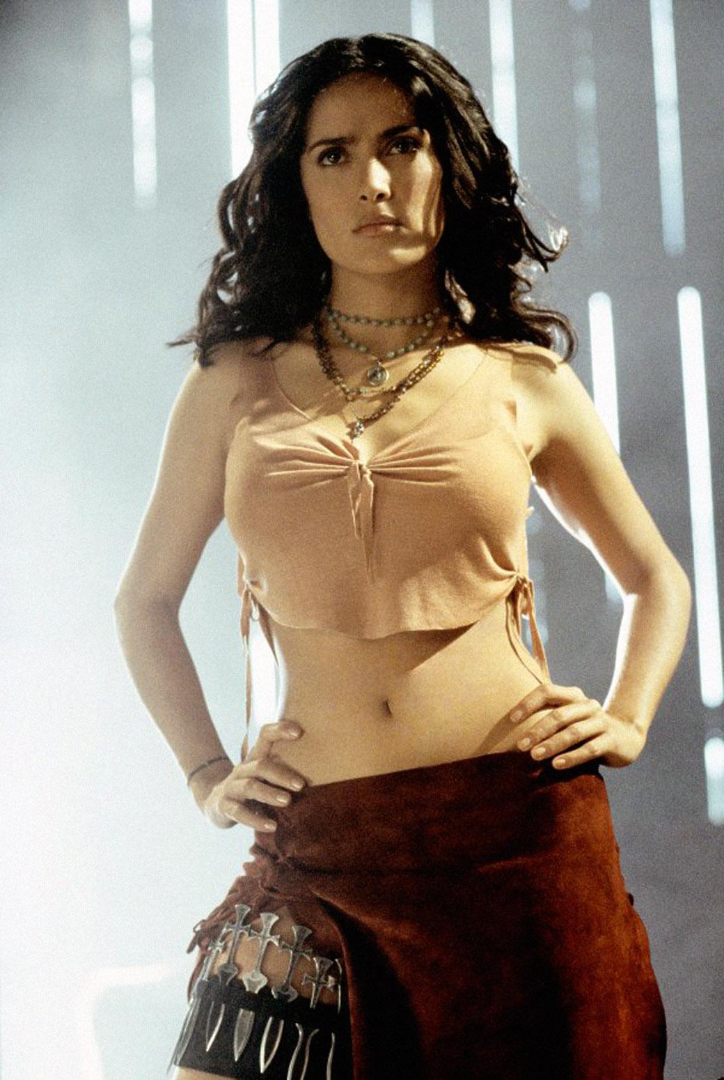 Salma hayek young nude pics big pussy jada