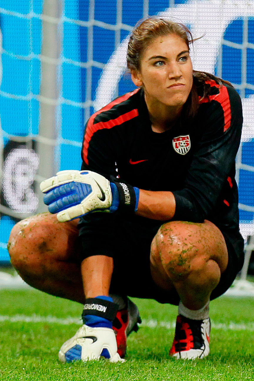 hope solo topless