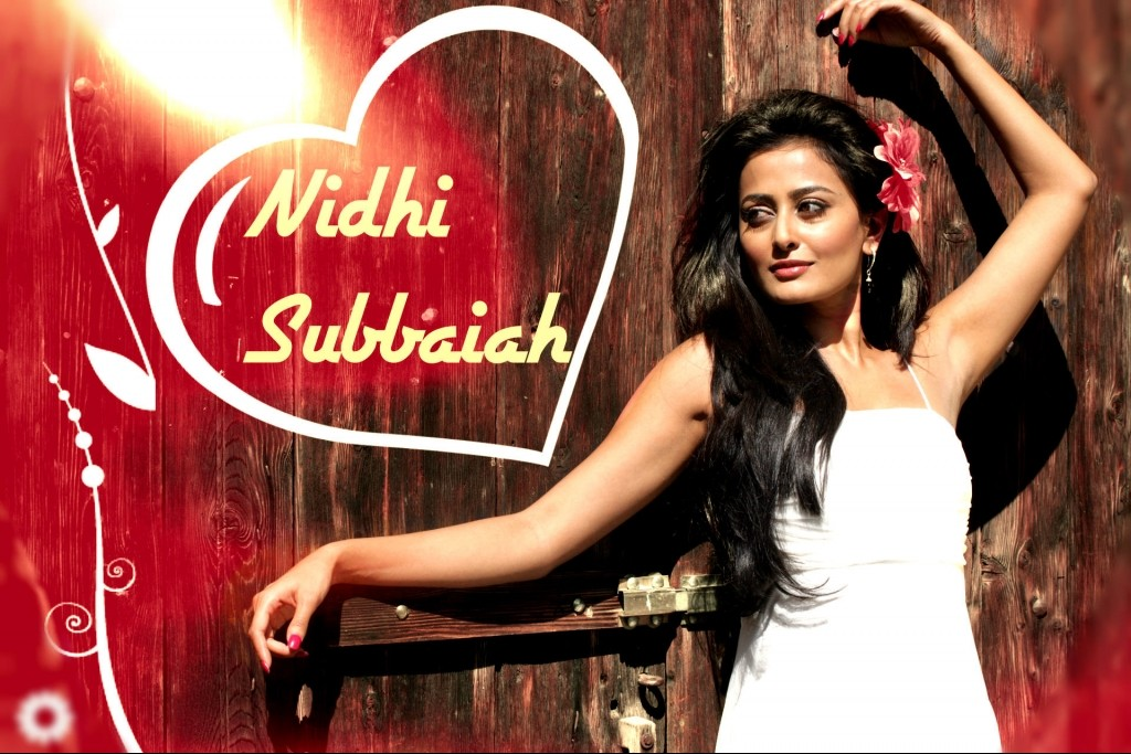 Nidhi Subbaiah Hot Pose