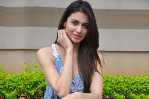 Actress Simran Kaur Mundi Photos At Potugadu Press Meet