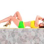 Shamita+Shetty in bikini