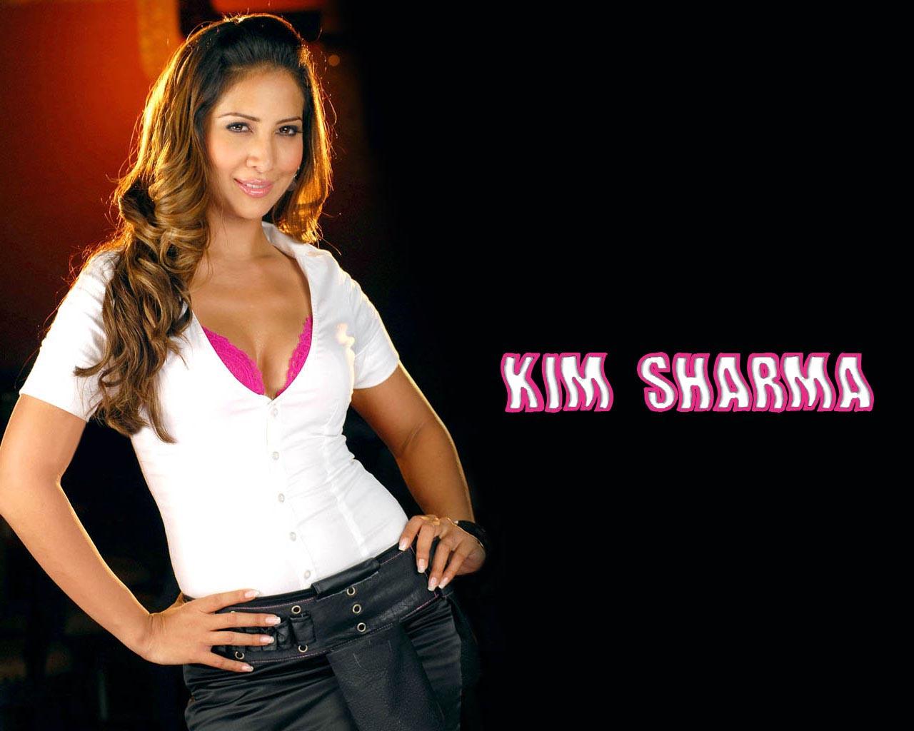 Kim sharma's sheer hot shirt is perfect for monsoon