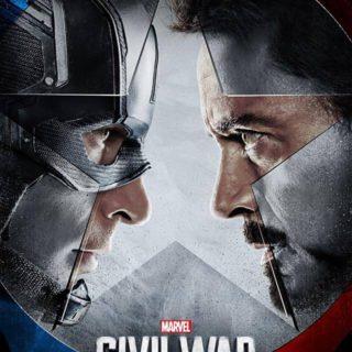 captain america civil war review poster