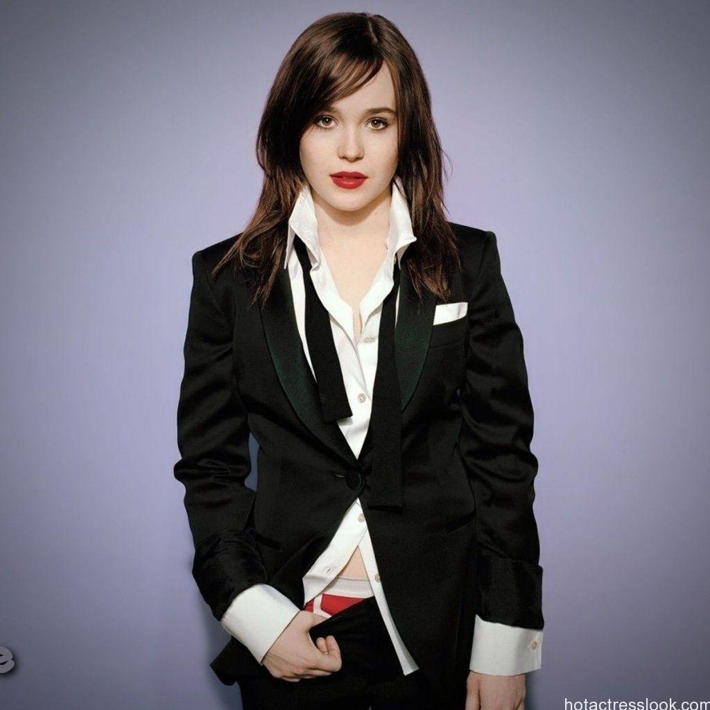 Ellen Page Looks Sexy