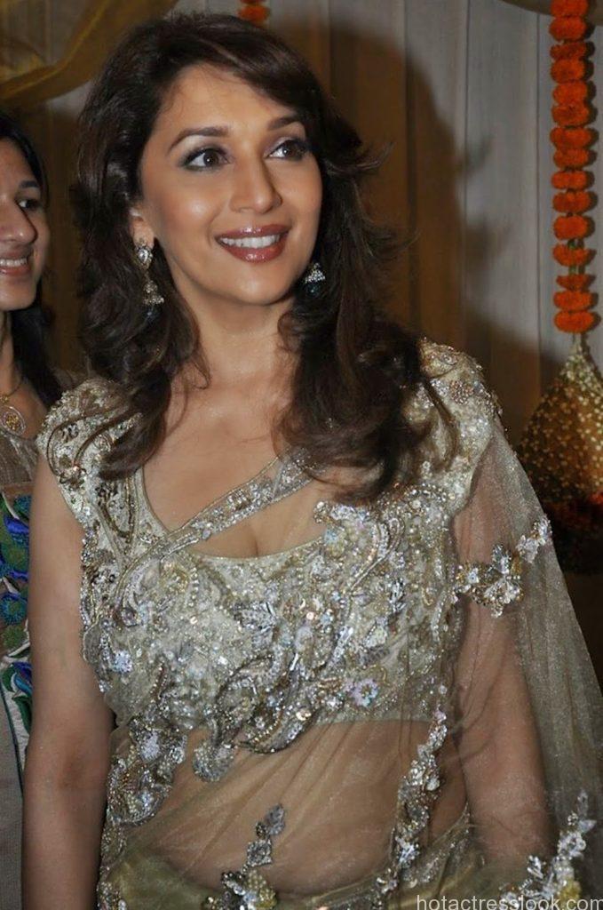 Madhuri Dixit Latest Hot Photos in Saree