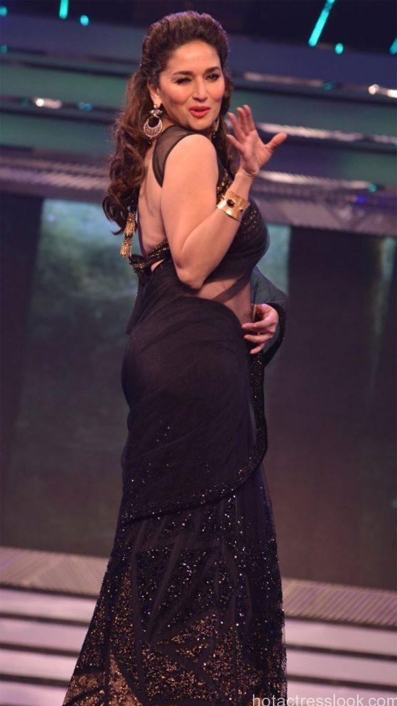 Madhuri Dixit Sexy back