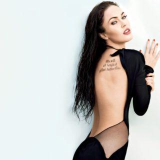 megan-fox-in-sexy-black-dress