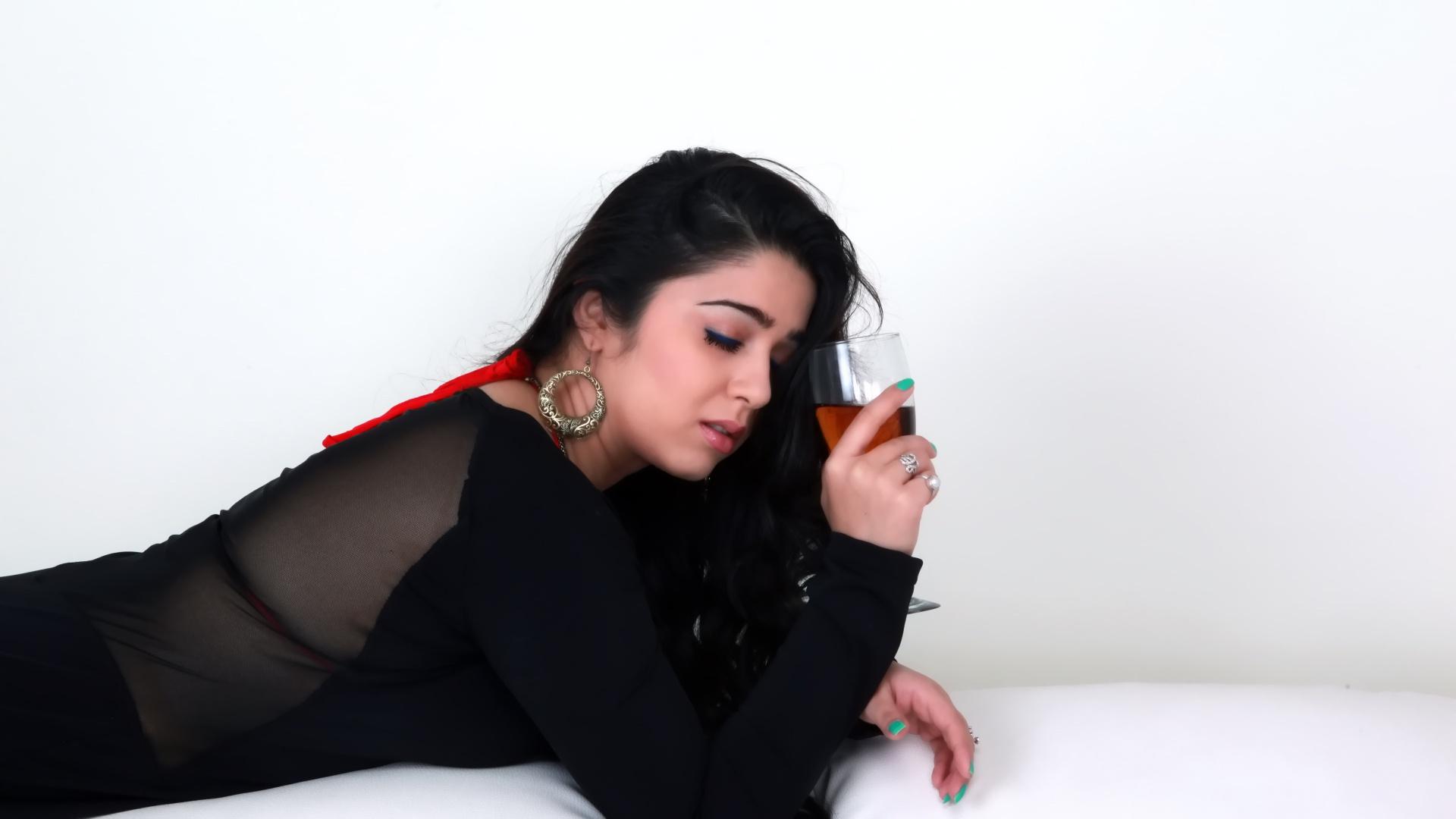 Charmi Kaur sexy photos in saree