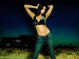 Shama Sikander hot bra panty