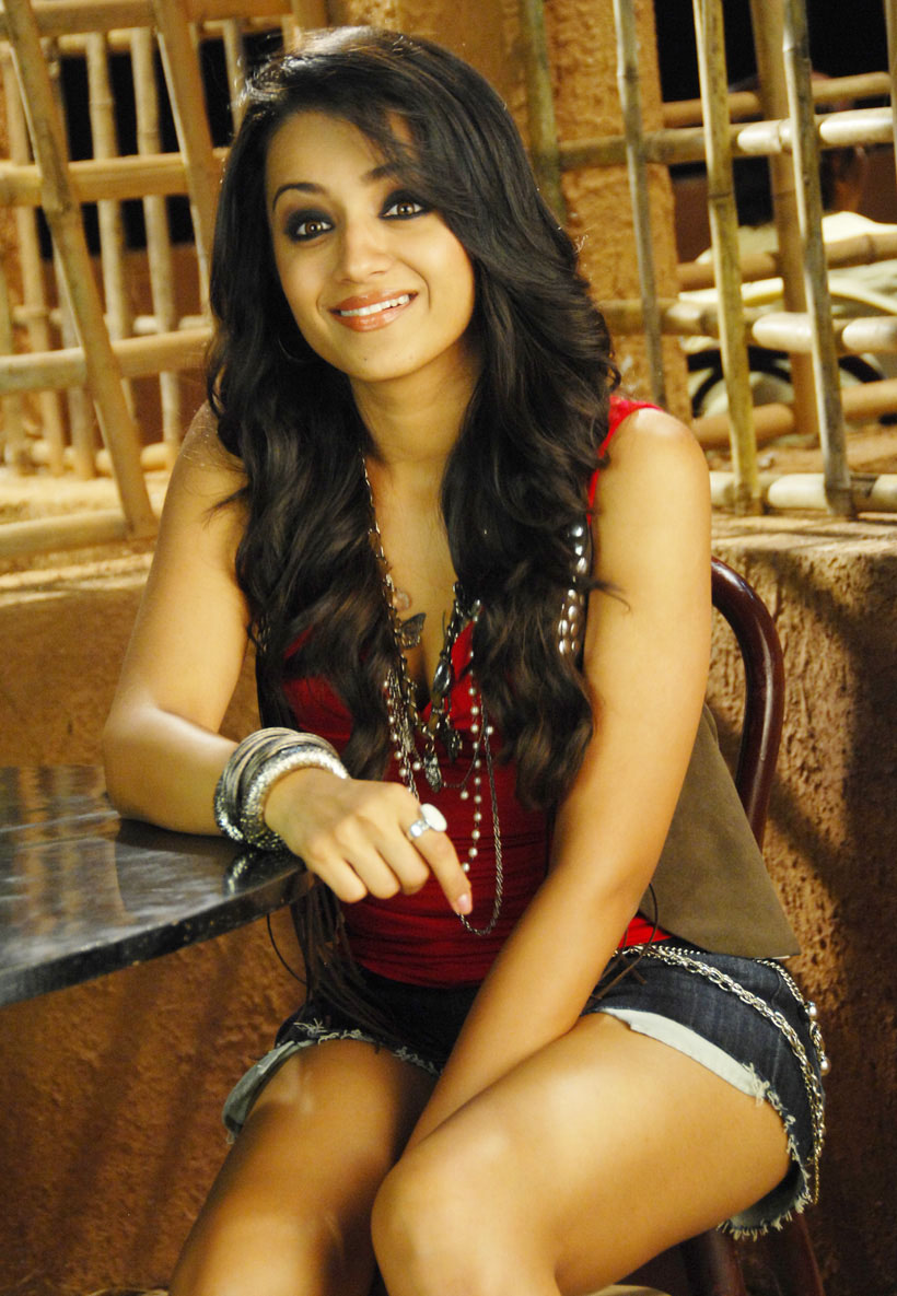 Trisha Krishnan hot in bikini