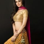 Actress Aishwarya Arjun New Hot Photo Shoot Pics