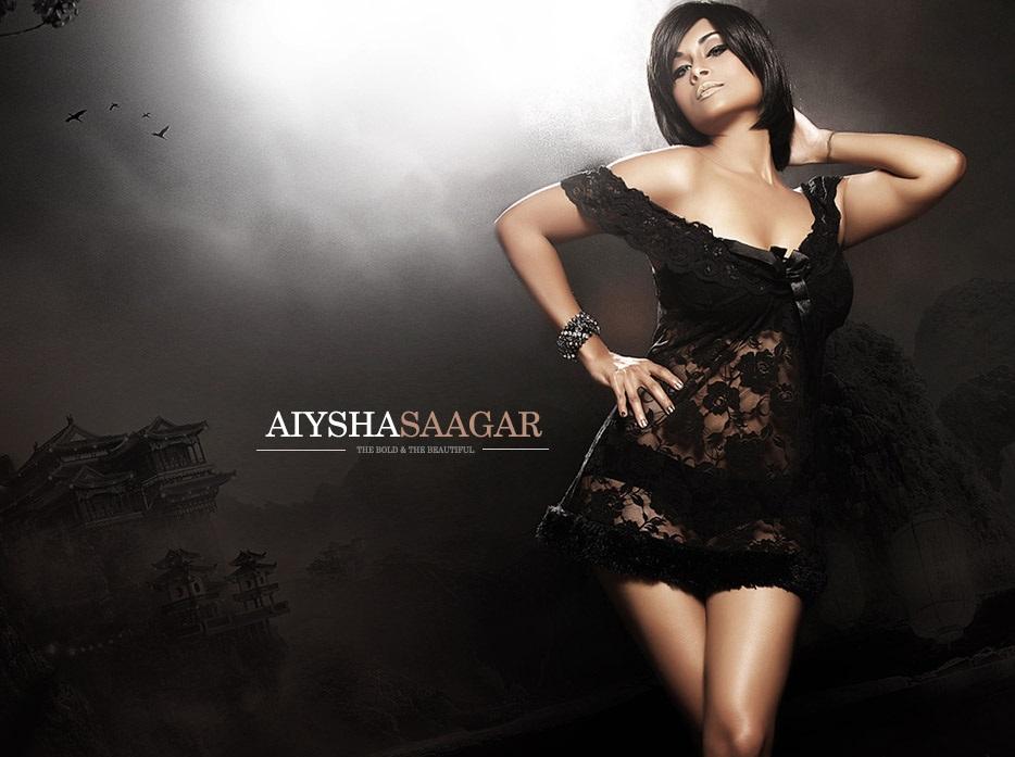Aiysha Saagar hot kissing pics