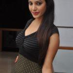Deeksha Panth hot in black dress