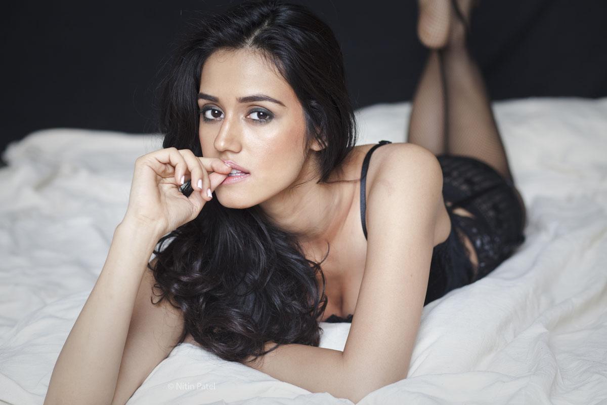 Disha Patani sexy pose in lingerie