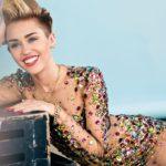 Miley Cyrus hot hd photos Red Lips HD Wallpaper