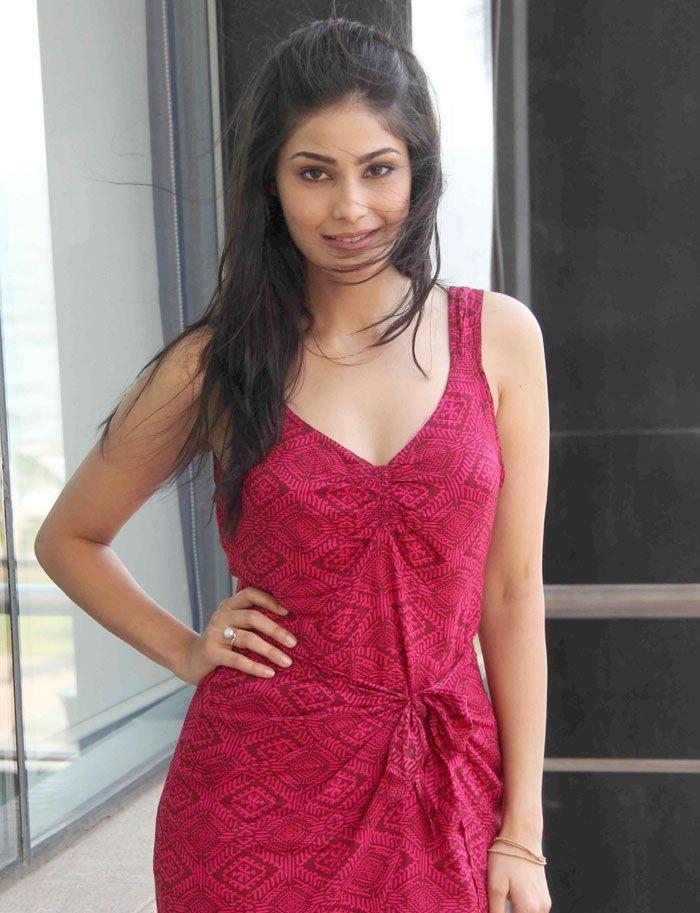 Puja Gupta hot in red dress