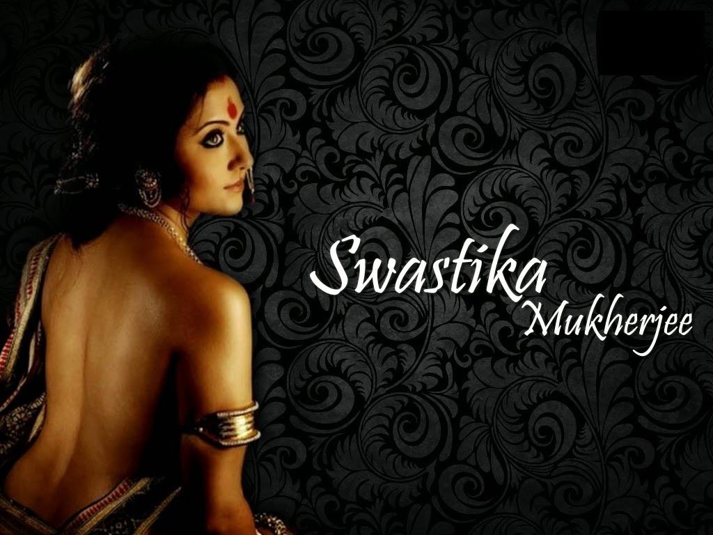 Swastika Mukherjee hot in backless saree